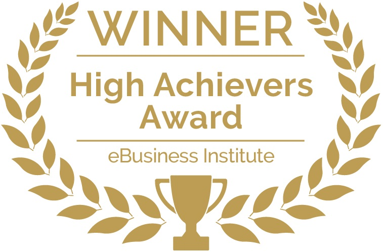 eBusiness Institute High Achievers Award