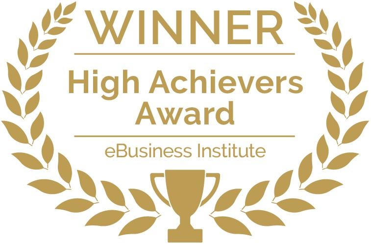 eBusiness Institute High Achievers Award